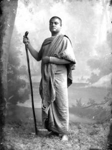 Vivekananda wandering