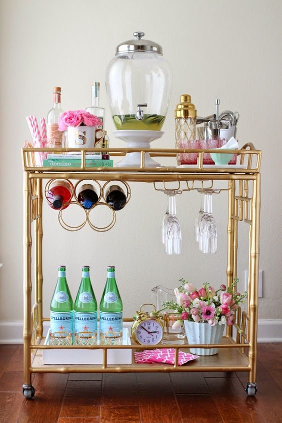 How to Dress Up Your Home Bar