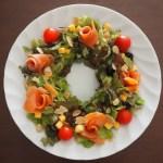 【パルシステム】センスの心配ご無用!リースサラダも簡単にできちゃうセットで一気に華やぐクリスマスメニュー♪