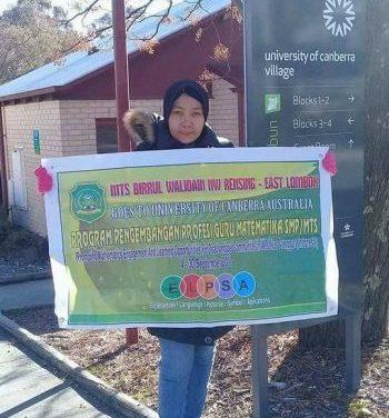 Ikuti Program Pengembangan Profesi, Guru Matematika Tsabiwa ke Australia Selama Empat Pekan