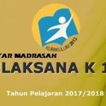 MTs Birrul Walidain NW Rensing SK Dirjen Pendis Tentang Madrasah Pelaksana Kurikulum 2013 Tahun Pelajaran 2017-2018
