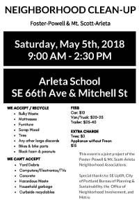 Neighborhood Cleanup Flyer 2018-Page 1