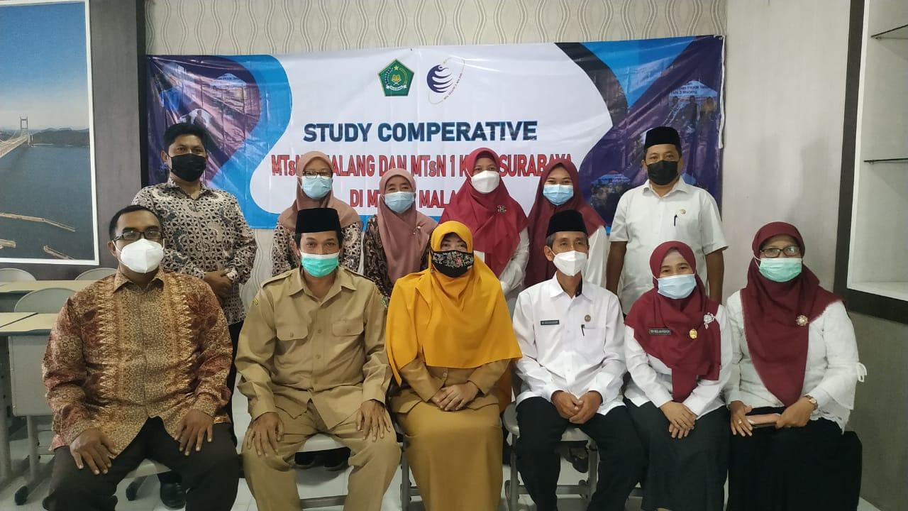 Kunjungan MTsN 7 Malang dan MTsN 1 Kota Surabaya