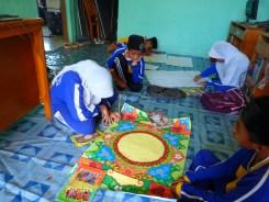 latihan seni kaligrafi
