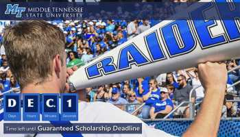 MTSU significantly increases Presidential Scholarship [+VIDEO