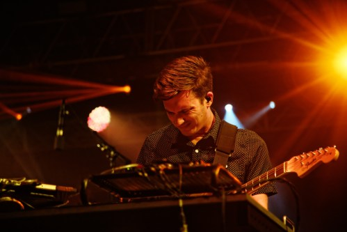 Hunter Brown of STS9 performs at the Bonnaroo Music and Arts Festival in Manchester, Tenn. on Friday,  June 12, 2015.  (MTSU Seigenthaler News Service / Gregory French)