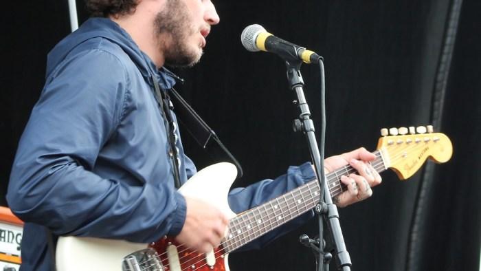 Eddy Brewerton of Moose Blood performs during the Nashville, Tennessee stop of the Vans Warped Tour on July, 1, 2015. (MTSU Sidelines / Savanna Hazlewood)