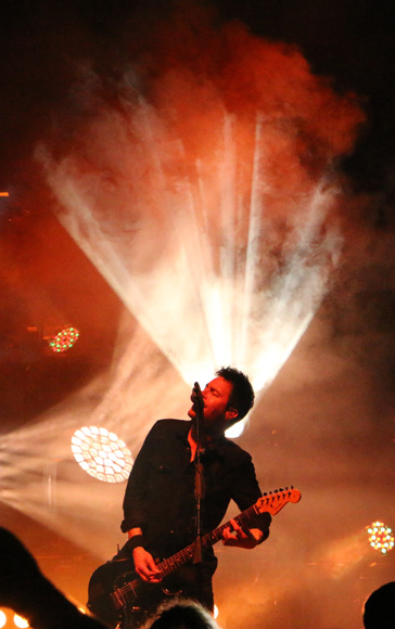 Pete Loeffler of Chevelle performs at the War Memorial Auditorium in Nashville, Tenn. on Tuesday, May 5, 2015. The show was the band's second stop on a co-headlining tour with The Used. (MTSU Sidelines / John Connor Coulston)