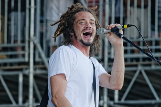 Jacob Hemphill of SOJA performs at the Bonnaroo Music and Arts Festival in Manchester, Tenn. on Friday,  June 12, 2015.  (MTSU Seigenthaler News Service / Gregory French)