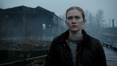 Mireille Enos as Detective Sarah Linden in season three of AMC's The Killing.