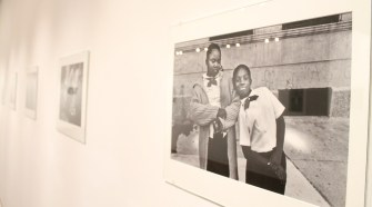 "Harvey Stein's ""Harlem Street Portraits"" will be on display at the Baldwin Photographic Gallery until Thursday, Feb. 26, 2015. Stein will speak in room 103 of the John Bragg Mass Communication Building on Thursday, Feb. 5, 2015."