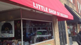 The exterior Little Shop of Records in Murfreesboro, Tenn. (MTSU Sidelines / John Connor Coulston)