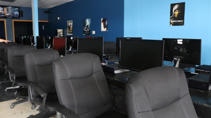 The Score of Murfreesboro hosts a fully equipped LAN center where gamers can play. (MTSU Sidelines/ Rhiannon Gilbert)