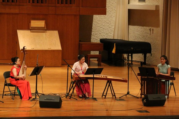 Hosted by MTSU's Center for Chinese Music and Culture Friday night, Deuling Dulcimers connected two musicians and two cultures. (Connor Burnard/Sidelines)