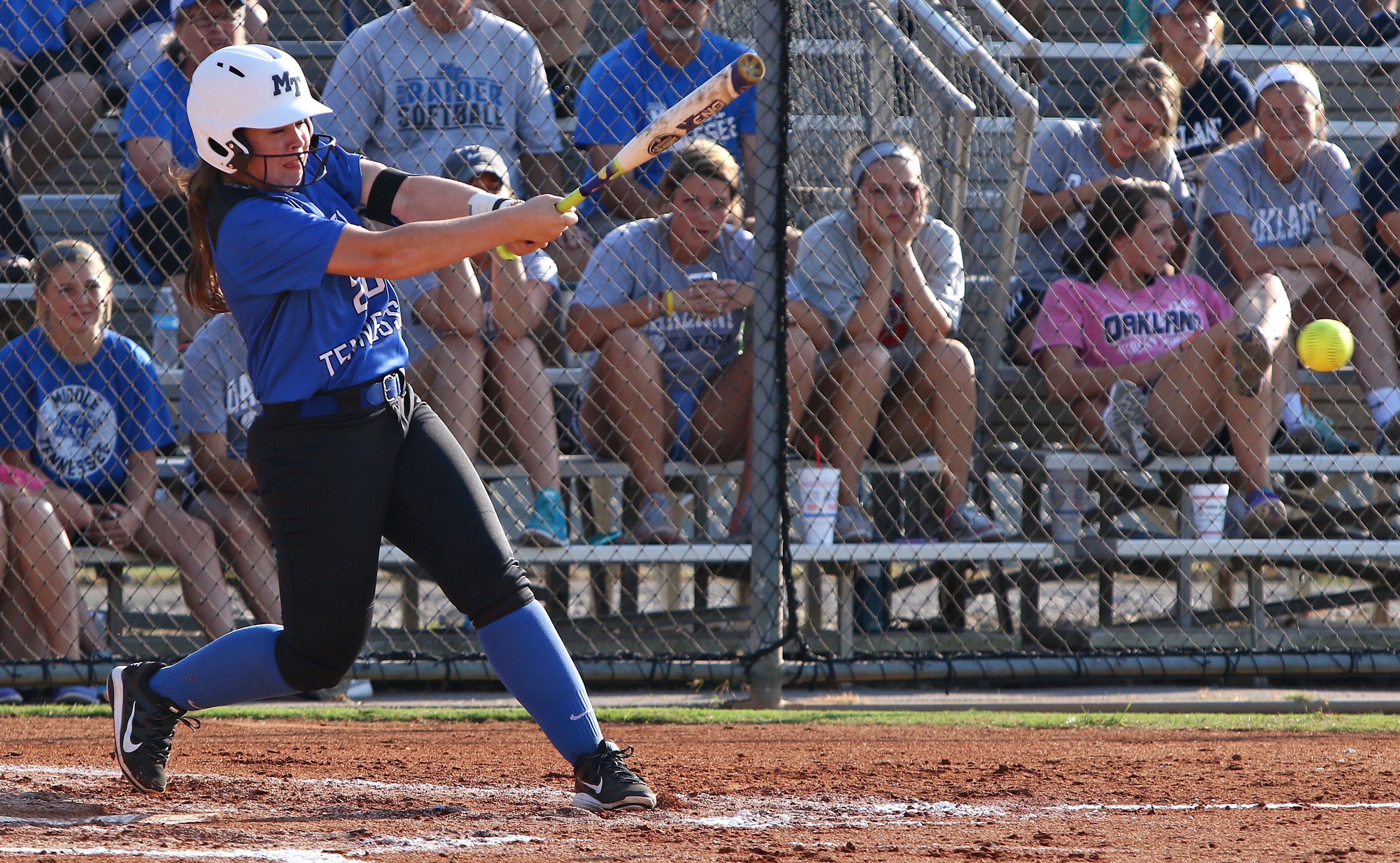 Blue Raider softball swept by Charlotte in double-header