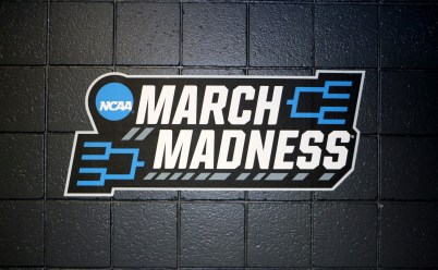 "The ""March Madness"" logo can be seen throughout the BMO Bradley Center this weekend for NCAA Tournament first-round games in Milwaukee, WI on from March 16-18. (MTSU Sidelines/Tyler Lamb)"