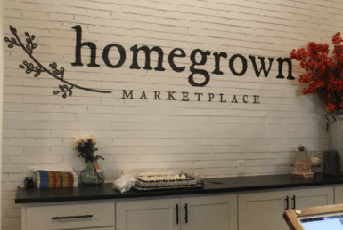 Homegrown Marketplace is a trendy gift store and boutique located in Murfreesboro, Tenn. on Nov. 1, 2017. (Shade Narramore / MTSU Sidelines)