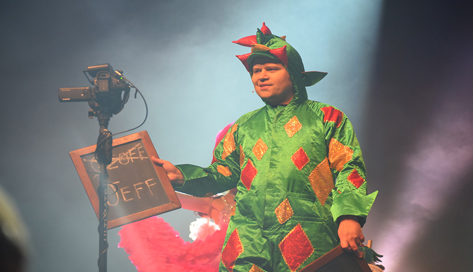 'America's Got Talent' star Piff the Magic Dragon performs at MTSU's Tucker Theater