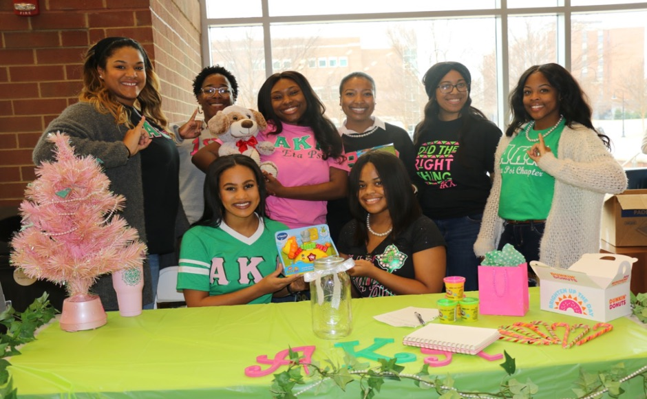 MTSU sorority partners with Salvation Army for toy drive