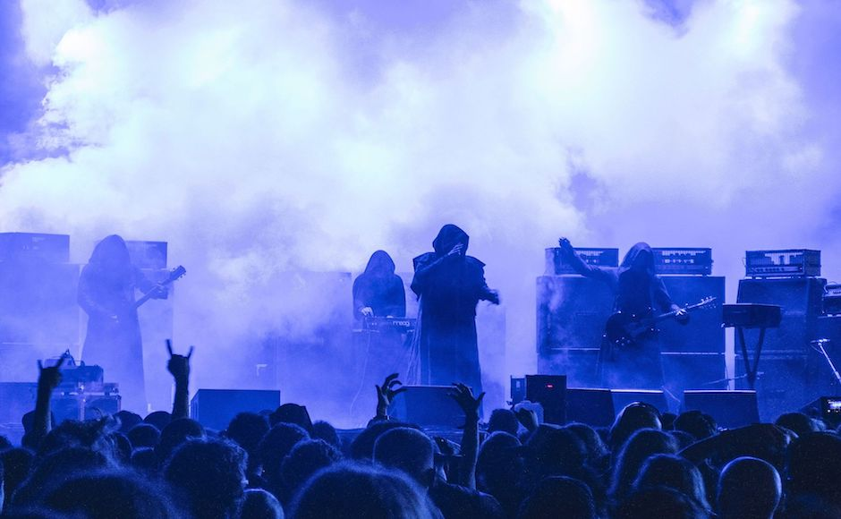 Sunn O))) meets Earth: Experimental drone metal band Sunn O))) goes underground for 4/20 show at The Caverns