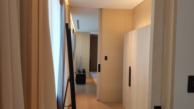 park hyatt bangkok suite the new wardrobe