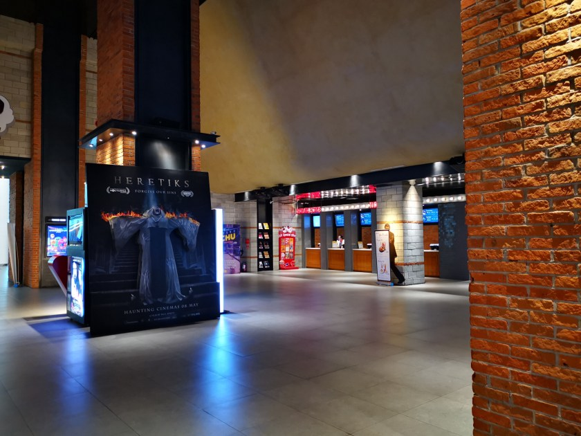 Foyer area CGV cinema