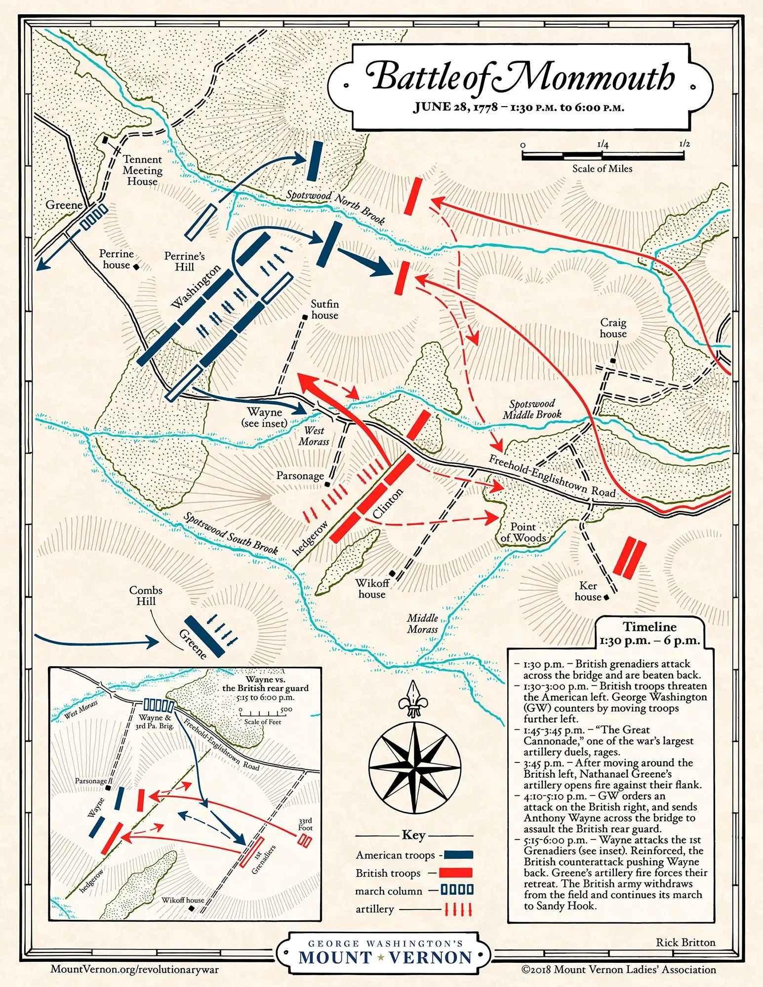 Revolutionary War Battle Of Yorktown Map