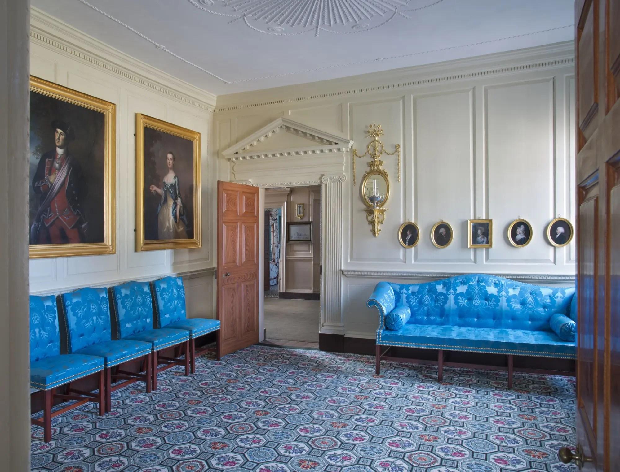 History Of The Room George Washington S Mount Vernon