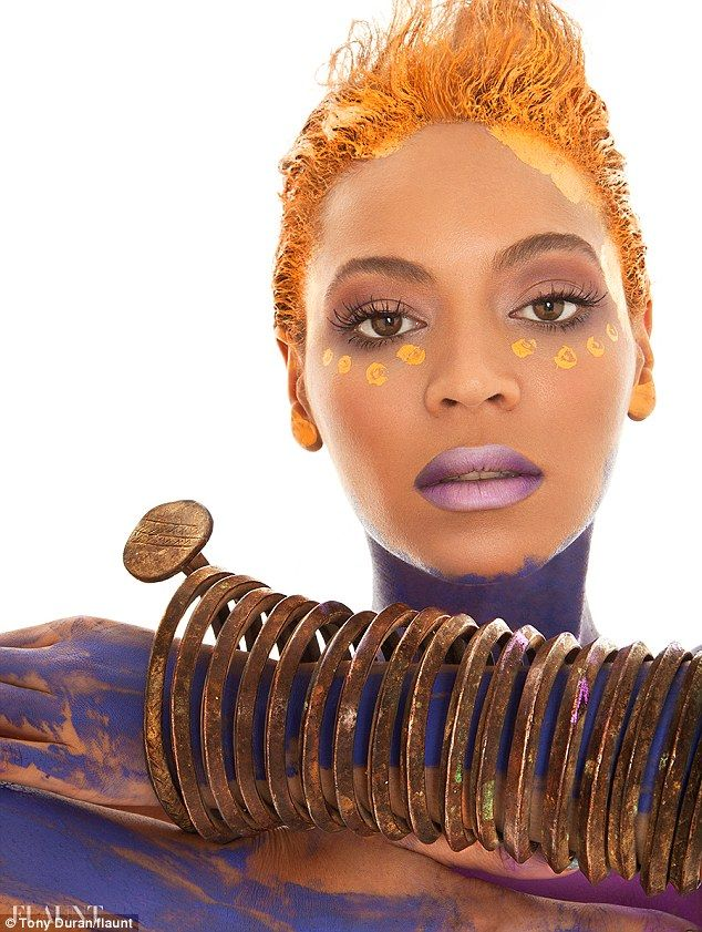 Beyonce's Most Revealing Shoot Yet - Beyonce Tribal