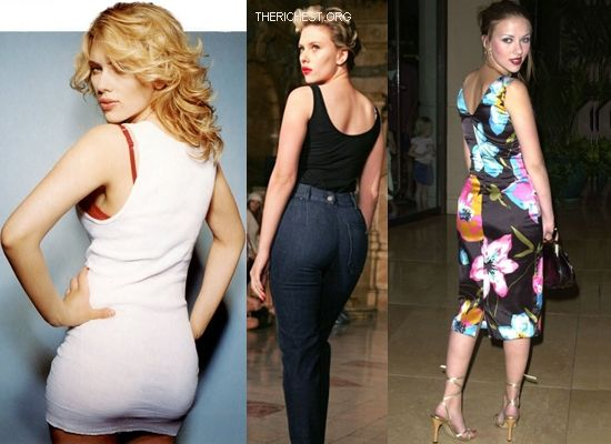 Biggest Celebrity Bootilicious Butts In Hollywood - Scarlett Johannson - known as one of the most modern voluptuous creatures on the planet, Scar Jo had to compensate for a body that would never give her long luscious legs.
