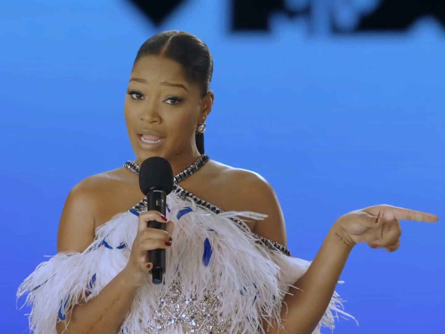 Keke Palmer Opens VMAs With Empowering Speech: 'It's Our Time To Be The Change'