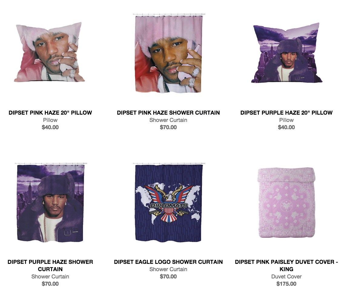 Dipset Home Furnishings Turn Your House Into a Diplomatic Home