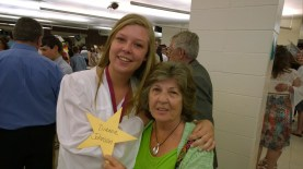 Youngest and last grand-daughter to graduate. Yeah!