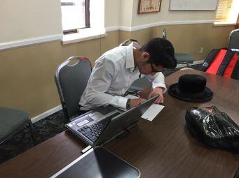 Hard at Work