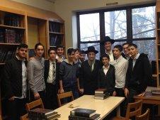 Visiting by Rabbi Shmuel Kamenetzky in Philadelphia