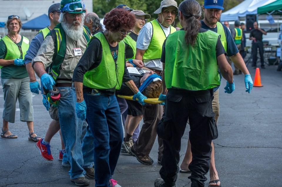 Mt. Washington Jessica CERT Earthquake Drill 10/18/14