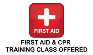 Firat Aid/CPR Training