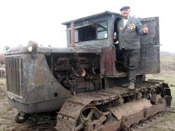 """""""Сталинец-80"""" - послевоенный трактор"""