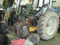 Капитальный ремонт трактора