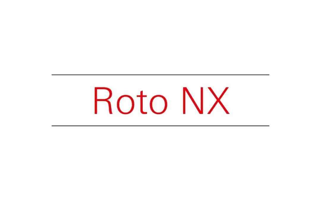 ROTO NX – Minden SCHÜCO műanyag ablakunk a ROTO 2018-as legújabb zárszerkezetével készül