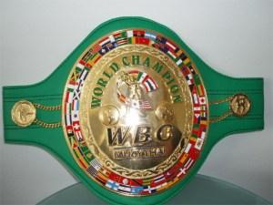 WBC Muay Thai Belt