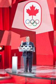 Marcel Aubut, President of the Canadian Olympic Committee