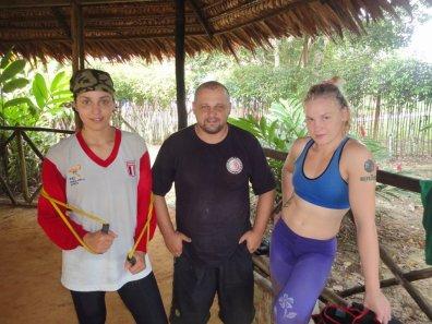 Antonina, Pavel and Valentina
