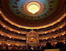 Interior of the Mariinsky Theatre
