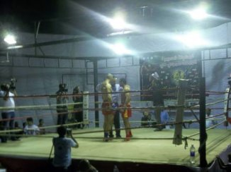 Ready in the ring
