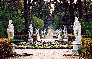Scene from the Summer Garden, Peterhof