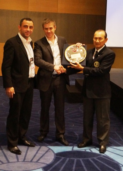 EMF shows appreciation for the Russian Muaythai Federation