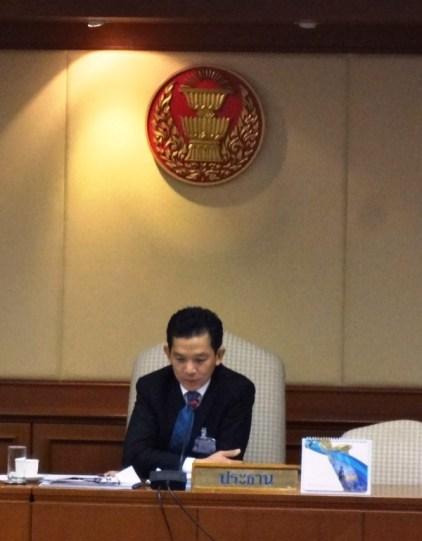 Chairman Thanet Kruarat