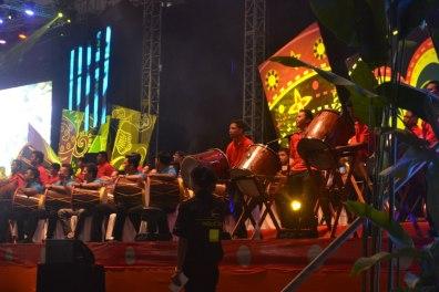 Evening Big Drums
