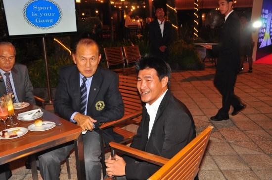 Somluck Kamsing and IFMA President Dr Tapsuwan